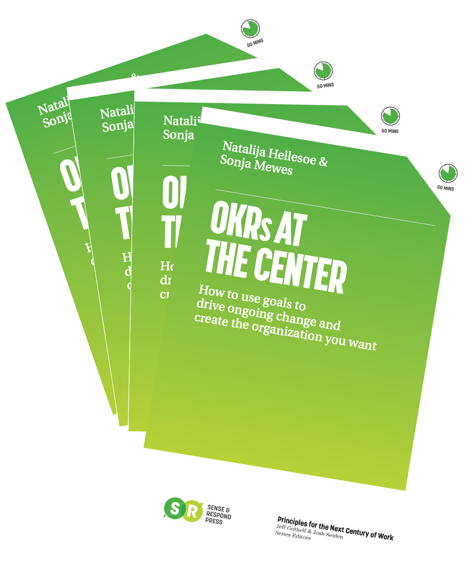 Book: OKRs AT THE CENTER
